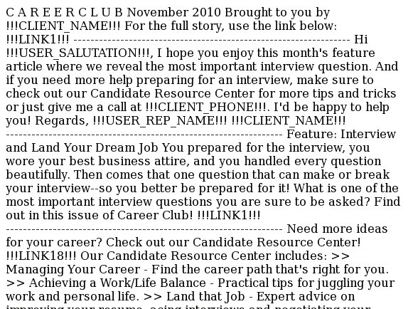 Take charge of the interview